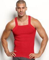 2xist Men's Underwear, Essentials Tagless Tank Square Cut 2 Pack