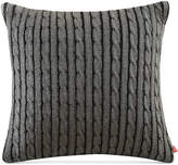 """Woolrich Williamsport Knit 18"""" Square Decorative Pillow"""