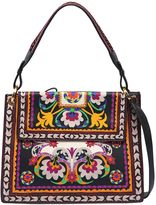 Etro Printed Leather Shoulder Bag