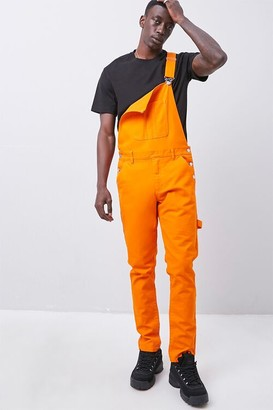 Forever 21 Slim-Fit Utility Overalls