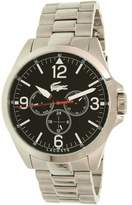 Lacoste Men's Montreal 2010808 Silver Stainless-Steel Analog Quartz Dress Watch