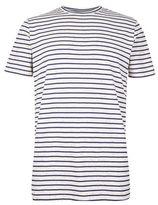 Burton Mens Common People Navy Striped T-Shirt*