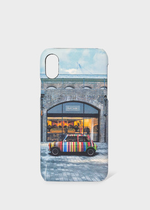 'Mini Kings Cross' Print iPhone X Case