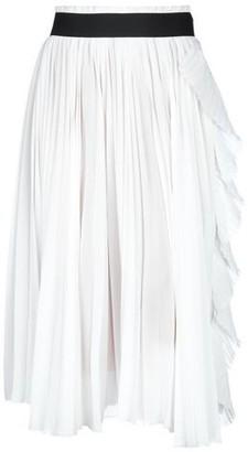 Nude 3/4 length skirt