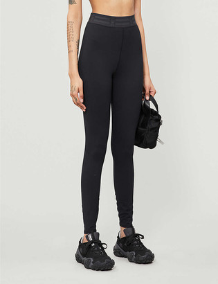 Good American Icon high-rise stretch-jersey leggings