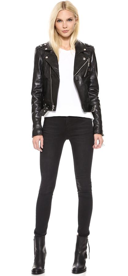 BLK DNM Leather Jacket 1