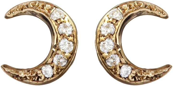 Manon Big Moon Studs