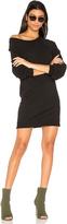 Pam & Gela Destroyed Off Shoulder Dress