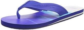 O'Neill Men's FM Imprint Pattern FLIP Flops, Blue (5900 Blue Aop), (42 EU)