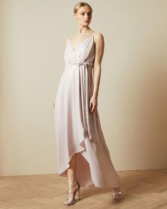 Ted Baker Waterfall Wrap Maxi Dress