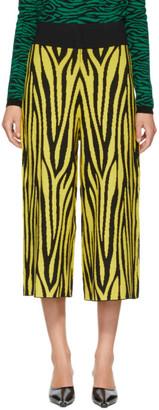 Victor Glemaud Yellow and Black Victoria Merino Lounge Pants