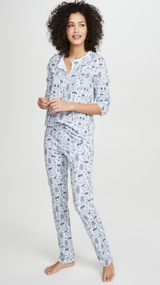 Roller Rabbit Nordic Folk Pajamas