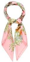 Hermes Jardin Secret Silk Scarf
