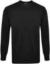 Paul & Shark Paul And Shark Crew Neck Knitted Jumper Black