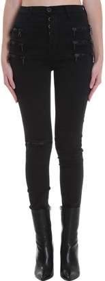 Taverniti So Ben Unravel Project Jeans In Black Denim