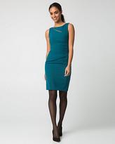 Le Château Double Weave Cutout Shift Dress