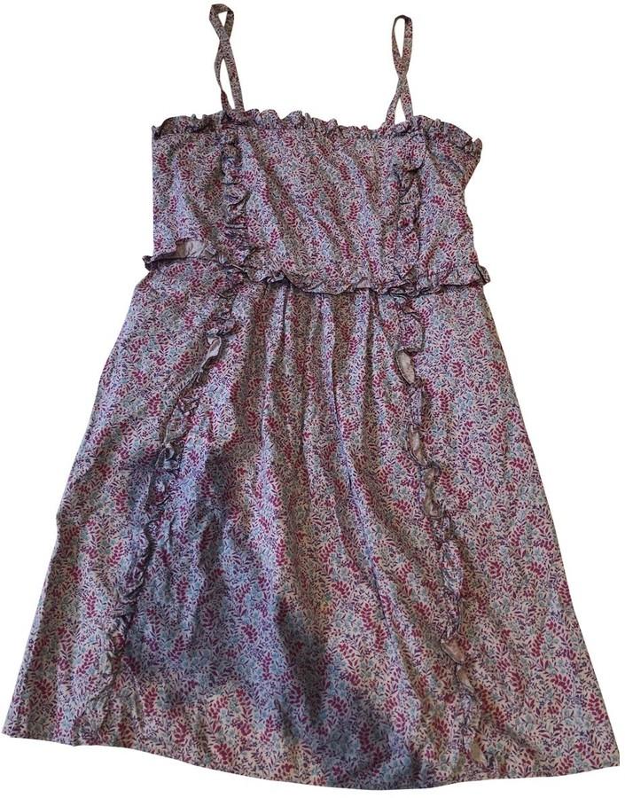 Marc by Marc Jacobs Purple Cotton Dresses