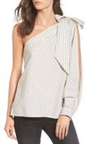 BP Women's Split Sleeve One-Shoulder Top