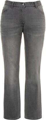 Ulla Popken Women's Softshell-Jacke Bootcut Jeans