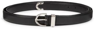 KHAITE Brooke Double Wrap Leather Belt
