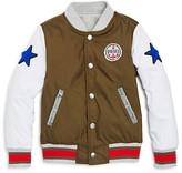 Diesel Boys' Jacyk Reversible Varsity Jacket - Little Kid, Big Kid
