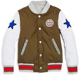 Diesel Boys' Jacyk Reversible Varsity Jacket - Sizes 2-7