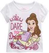 Children's Apparel Network Beauty & the Beast 'Dream' Cap-Sleeve Tee - Toddler & Girls