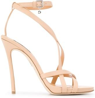 DSQUARED2 Multi-Strap Stiletto Sandals