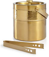 Martha Stewart Collection Gold Ice Bucket with Tongs, Created for Macy's