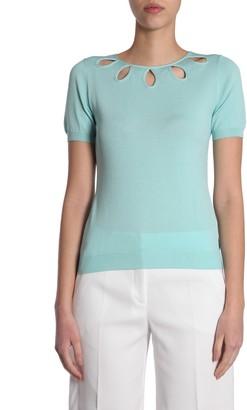 Moschino short sleeve jumper