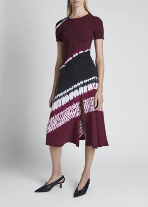 Altuzarra Tie-Dyed Crewneck Dress