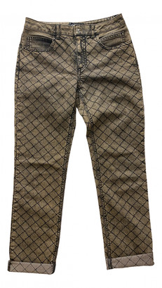 Chanel Gold Denim - Jeans Jeans