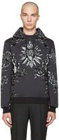 Dolce & Gabbana Grey Rose Hoodie