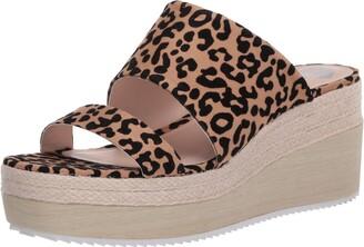 Fergie Womens Ripley Leopard Ankle Straps 11 M
