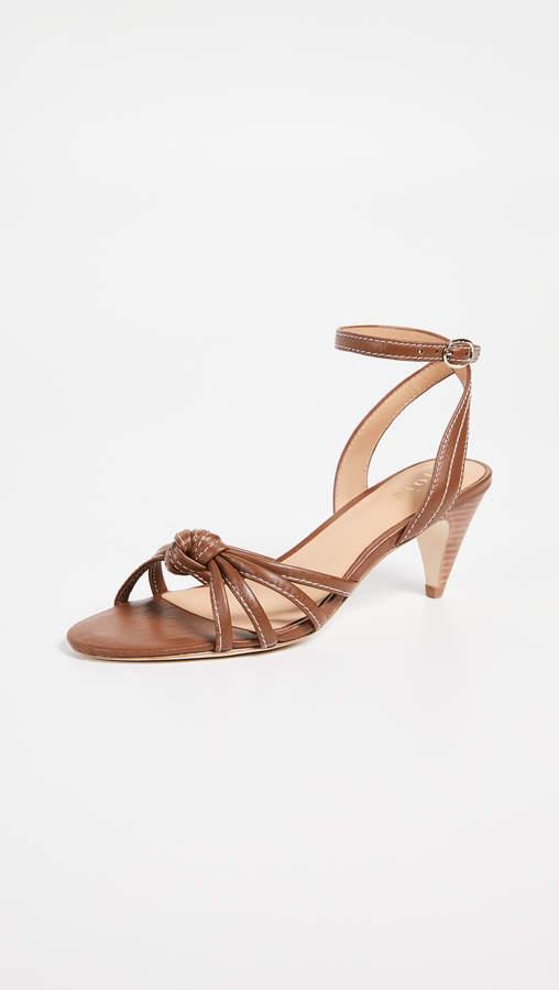d8bdf69b93 Joie Brown Heel Strap Women's Sandals - ShopStyle
