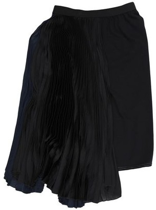 Hache Knee length skirt
