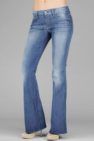 "7 For All Mankind ""A"" Pocket Flare In Heritage Light"