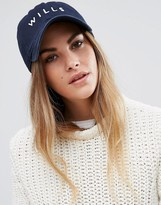 Jack Wills Baseball Cap in Navy
