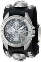 Nemesis Men's MSK909K Skull Compass Watch