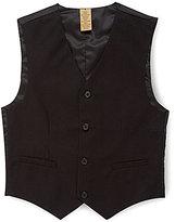 Class Club Gold Label Big Boys 8-20 Basic Black Vest