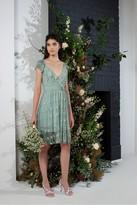 French Connection Emiki Lace Ruffle Bridesmaid Dress