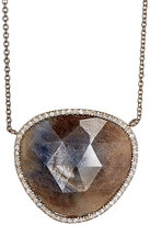 Monique Péan Women's Sapphire Slice Pendant Necklace