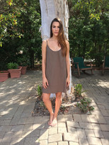 Tysa Perfect Dress in Olive