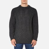 Vivienne Westwood Anglomania Long Ribs Jumper Charcoal