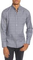 Zachary Prell Serrecchia Regular Fit Plaid Button-Down Sport Shirt