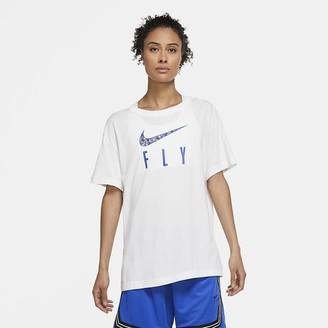 Nike Women's Basketball T-Shirt Dri-FIT Swoosh Fly