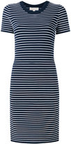 MICHAEL Michael Kors striped dress - women - Nylon/Spandex/Elastane/Viscose - S