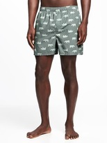 Old Navy Printed Boxer Shorts for Men