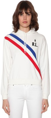 Polo Ralph Lauren Logo Print Cotton Sweatshirt Hoodie