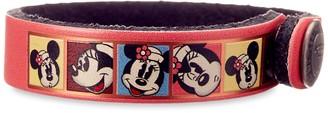 Disney Minnie Mouse Comic Leather Bracelet Personalizable